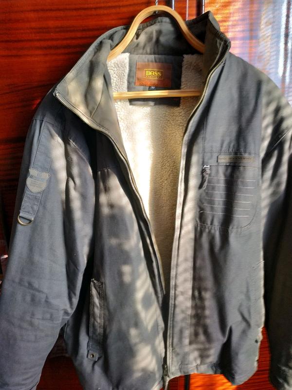 Куртка чоловіча розмір 50.Захисного кольору. - Фото 7