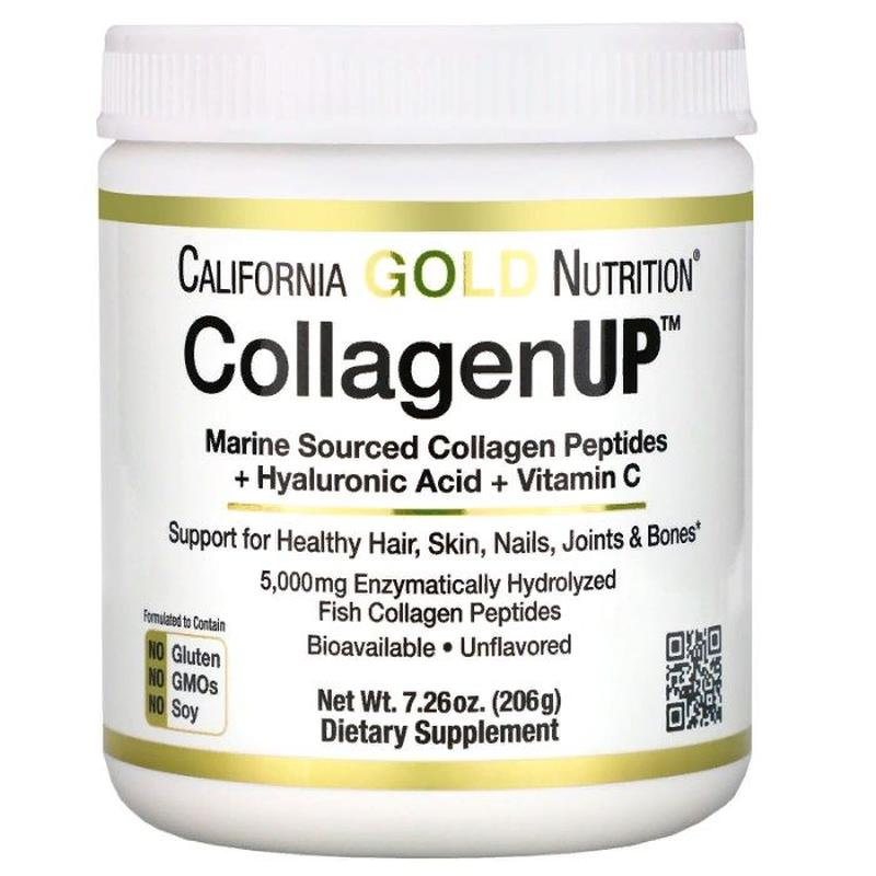 California Gold Nutrition CollagenUP, коллаген+гиалуроновая кисло