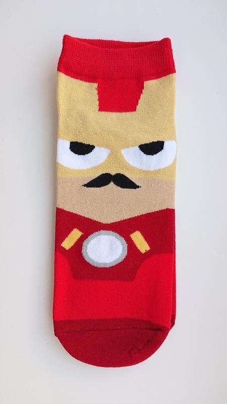 Avengers! мужские носки с супергероем марвел(marvel)-железный ...
