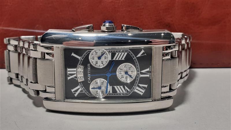 Мужские наручные часы Cartier - Фото 2