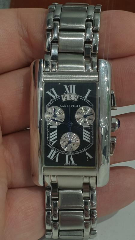 Мужские наручные часы Cartier - Фото 7