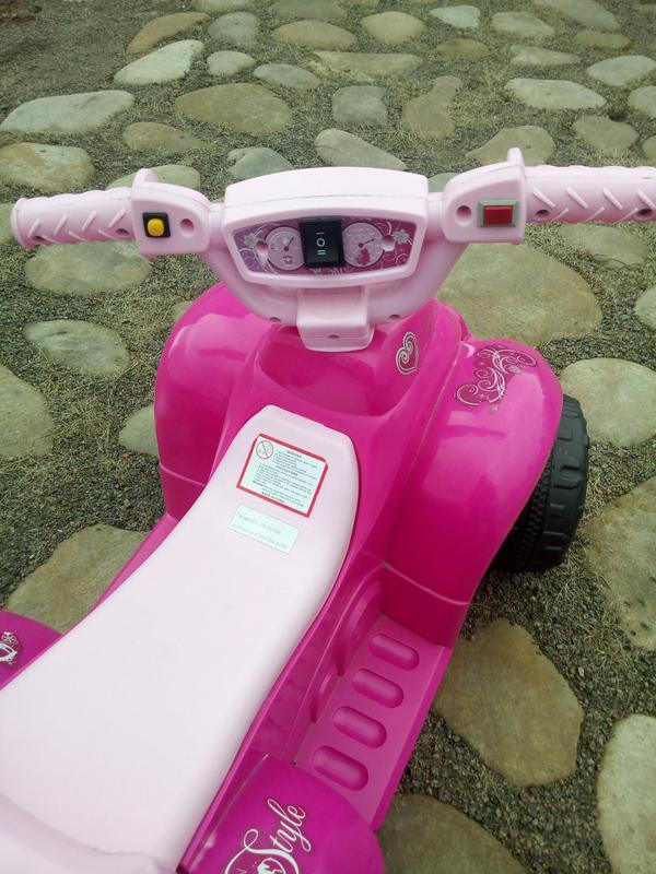 Детский квадроцикл  ZP 5111-8  с изображением фей - Фото 2