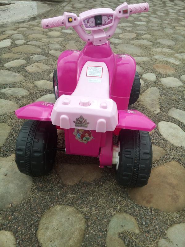 Детский квадроцикл  ZP 5111-8  с изображением фей - Фото 3