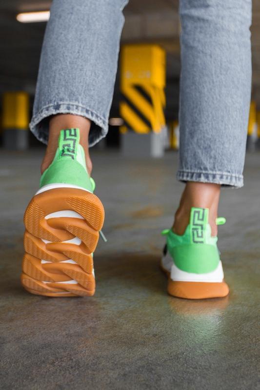 Шикарные женские кроссовки осень - Фото 3