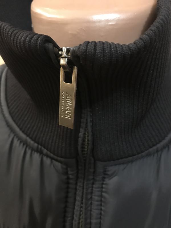 Armani collezioni куртка пуховик оригинал идеал - Фото 5