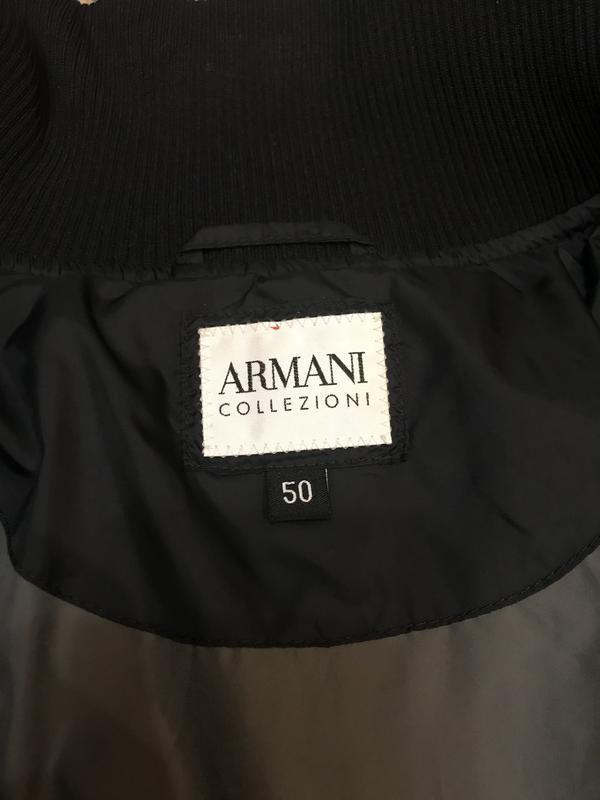 Armani collezioni куртка пуховик оригинал идеал - Фото 8