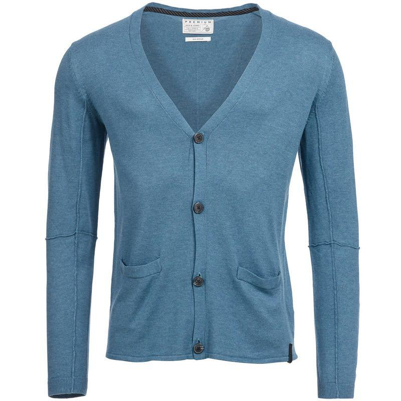 Мужской премиум кардиган свитер Jack & Jones размер S 48 Оригинал