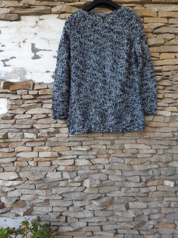 Стильный пуловер большого размера - Фото 3