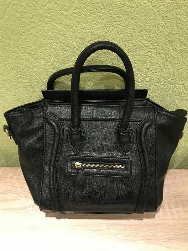 Классическая модная женская сумка