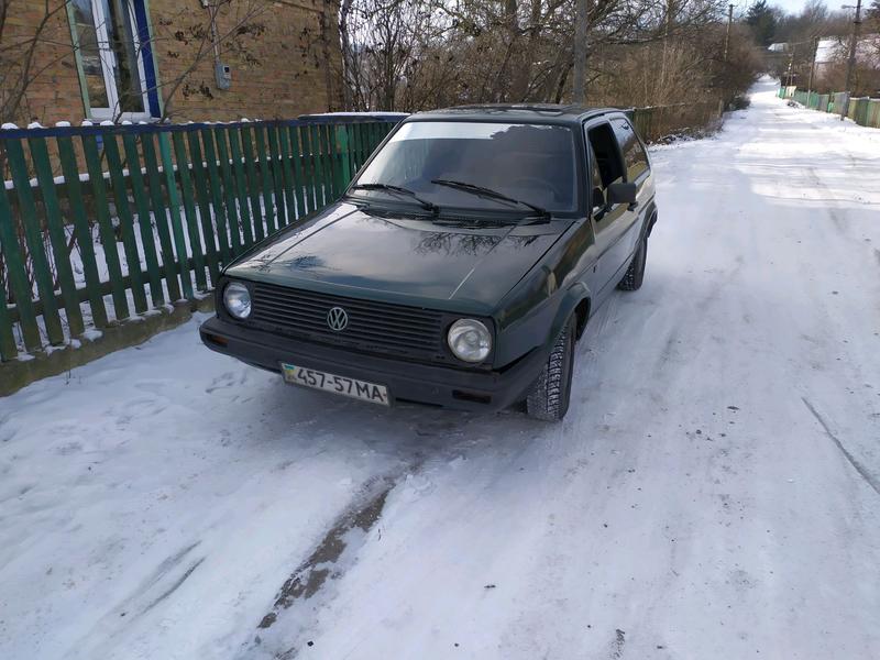 Volkswagen golf mk2 1.6