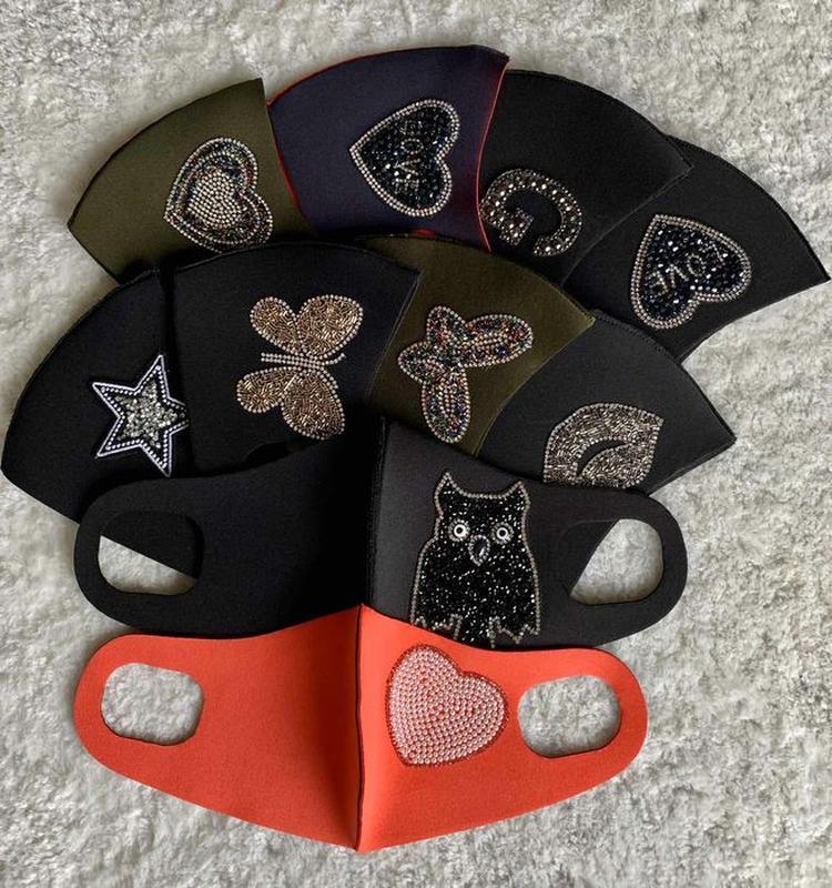 Акция! Многоразовая маска Pitta, маска-пита, питта, неопрен. Л...