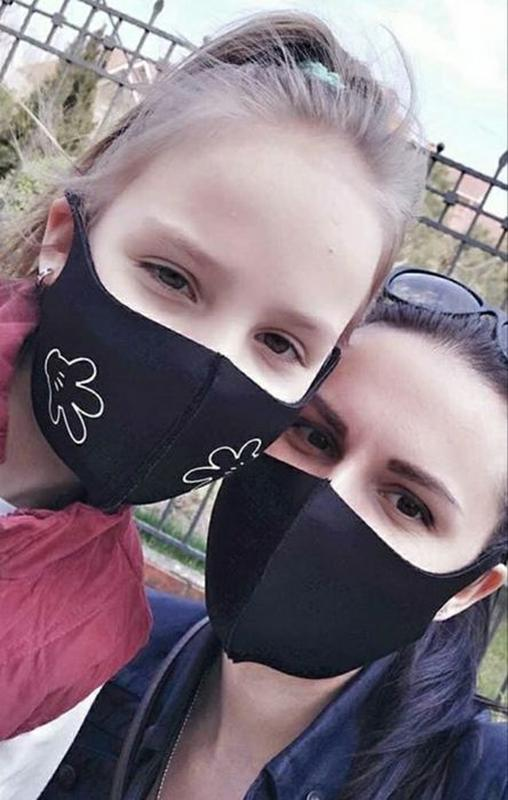 Акция! Многоразовая маска Pitta, маска-пита, питта, неопрен. Л... - Фото 2