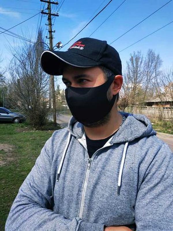 Акция! Многоразовая маска Pitta, маска-пита, питта, неопрен. Л... - Фото 4
