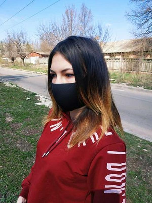 Акция! Многоразовая маска Pitta, маска-пита, питта, неопрен. Л... - Фото 5