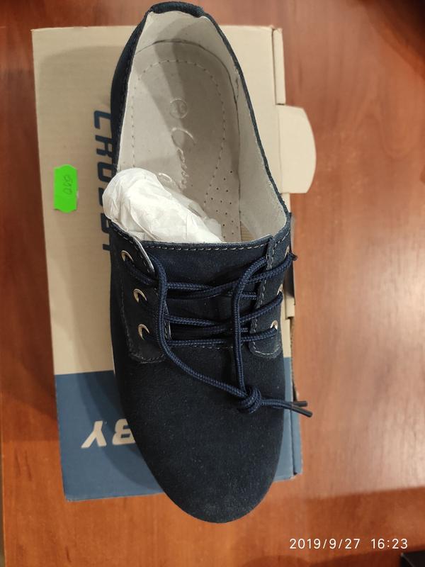 Crossby Качественные замшевые туфли кроссовки