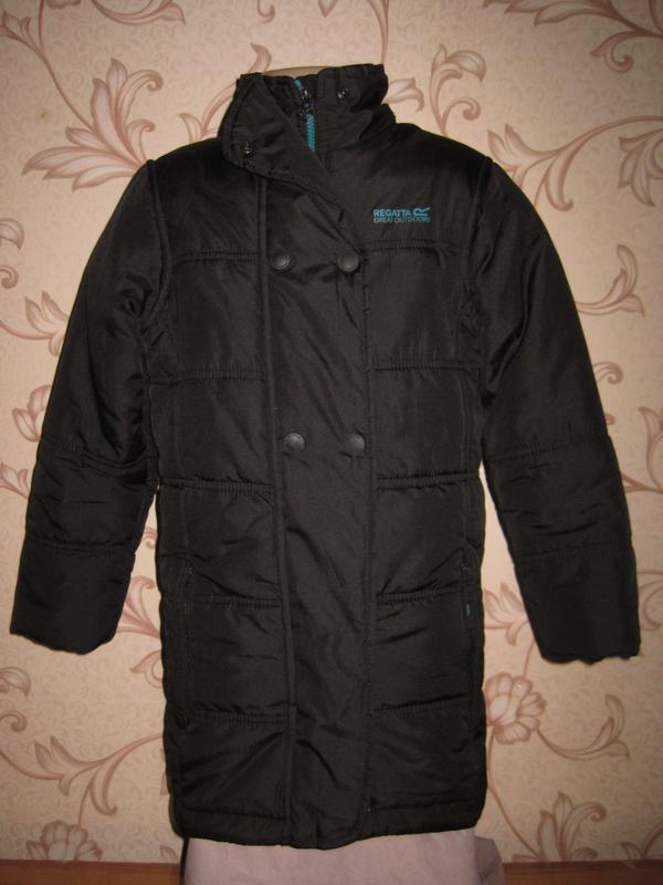Куртка весенняя для мальчика. на 7-8 лет, рост 128 см. regatta...