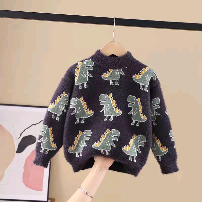 Тёплый стильный свитер
