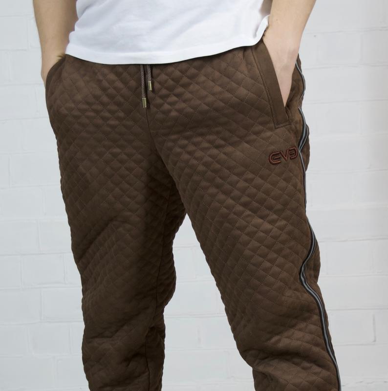 Теплые зимние спортивные коричневы брюки, джоггеры, штаны by i...