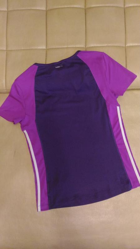 Спортивная футболка adidas, для фитнеса размер m /14 - Фото 2