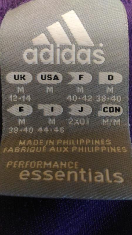 Спортивная футболка adidas, для фитнеса размер m /14 - Фото 4