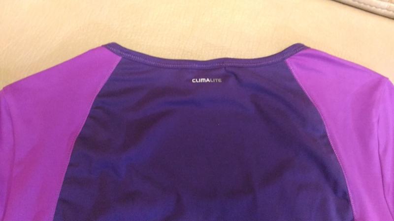 Спортивная футболка adidas, для фитнеса размер m /14 - Фото 5