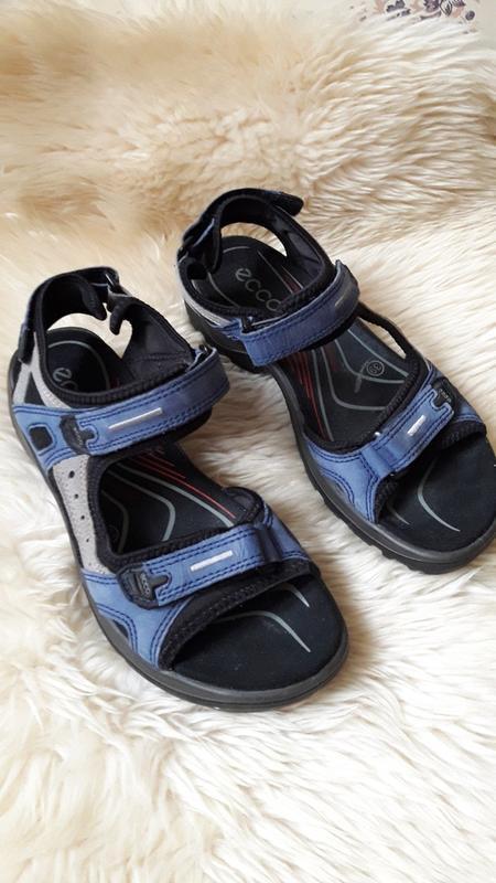 Кожаные сандалии босоножки ecco 39 размер