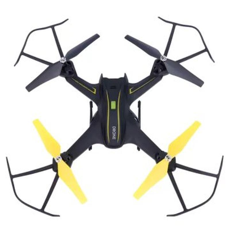 Квадрокоптер Drone S6 з Wi-Fi камерою 720 HD Black - Фото 2