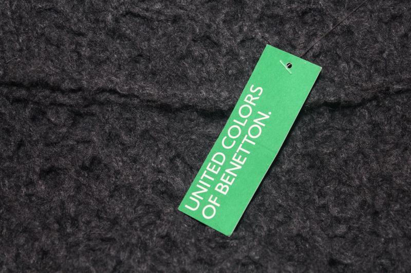 Роскошный свитшот крупной вязки stile benetton 44-46 - Фото 2