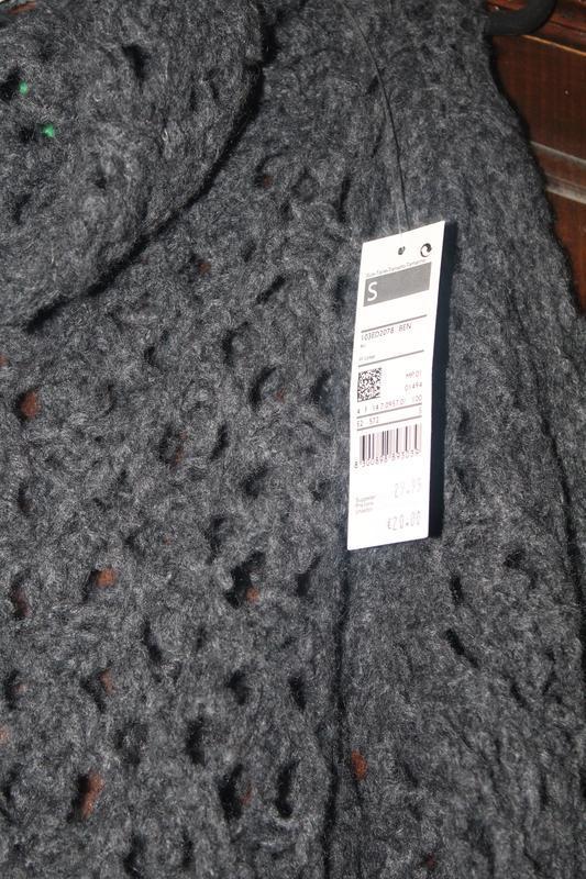 Роскошный свитшот крупной вязки stile benetton 44-46 - Фото 3