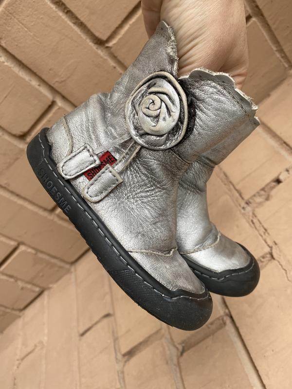 Кожаные ботинки на девочку, осенние сапоги , кожаные сапожки о...