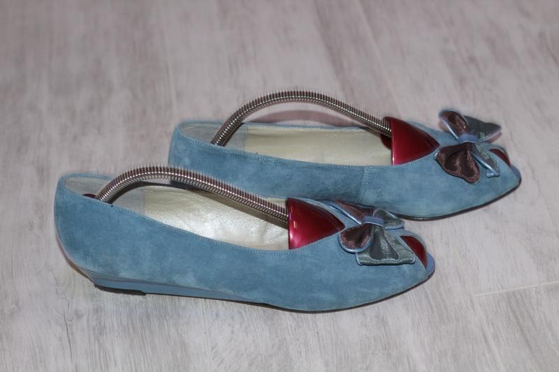Роскошные замшевые туфли romeo bettini  41-42 - Фото 2