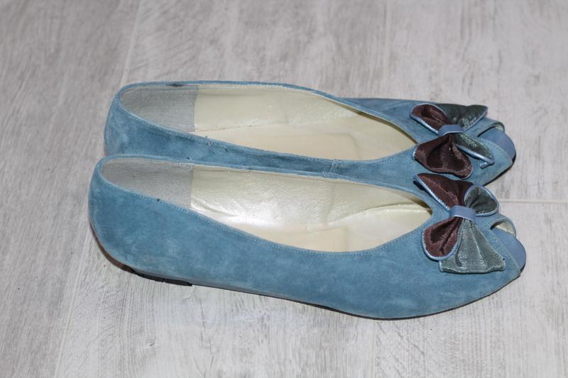 Роскошные замшевые туфли romeo bettini  41-42 - Фото 5