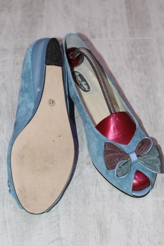 Роскошные замшевые туфли romeo bettini  41-42 - Фото 6