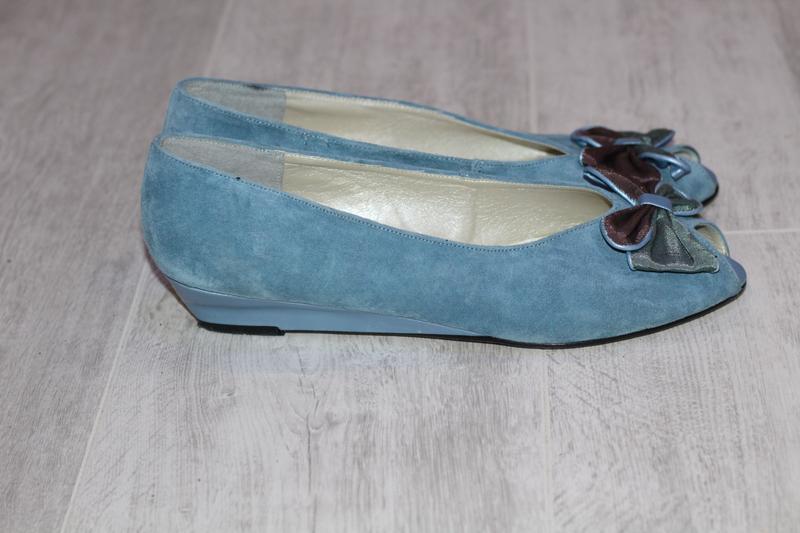 Роскошные замшевые туфли romeo bettini  41-42 - Фото 7