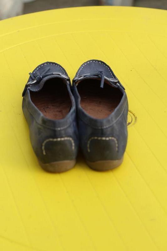 Кожаные мокасины tamaris 40-41 - Фото 5