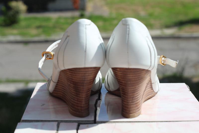 Кожаные туфли bronx 36-37. бразилия - Фото 3