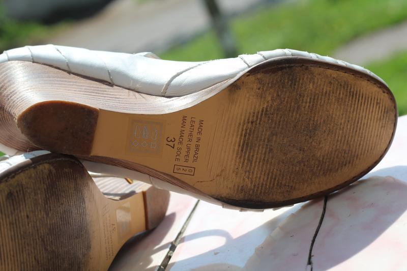 Кожаные туфли bronx 36-37. бразилия - Фото 5