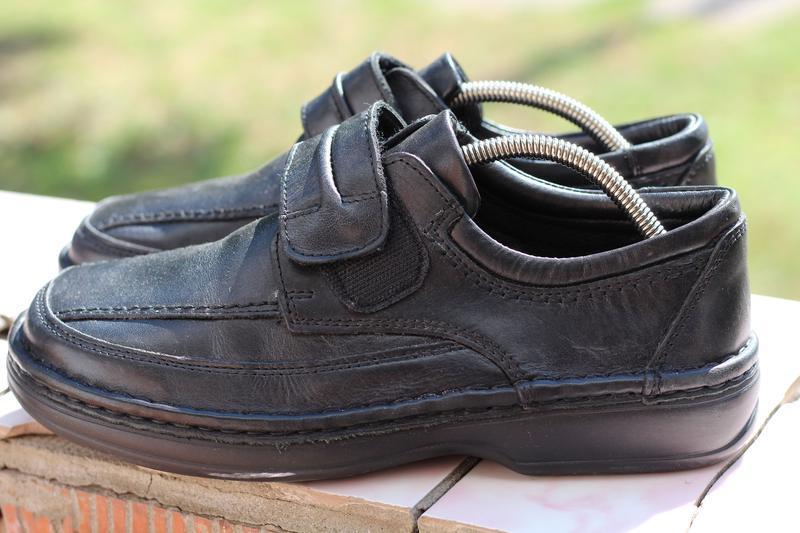 Шикарные кожаные туфли ara extra wide (широкая стопа) 40-41