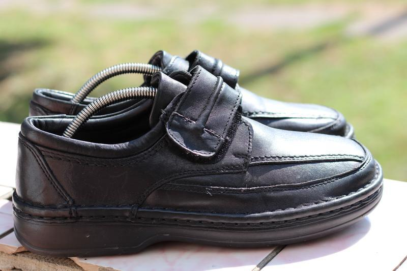 Шикарные кожаные туфли ara extra wide (широкая стопа) 40-41 - Фото 2