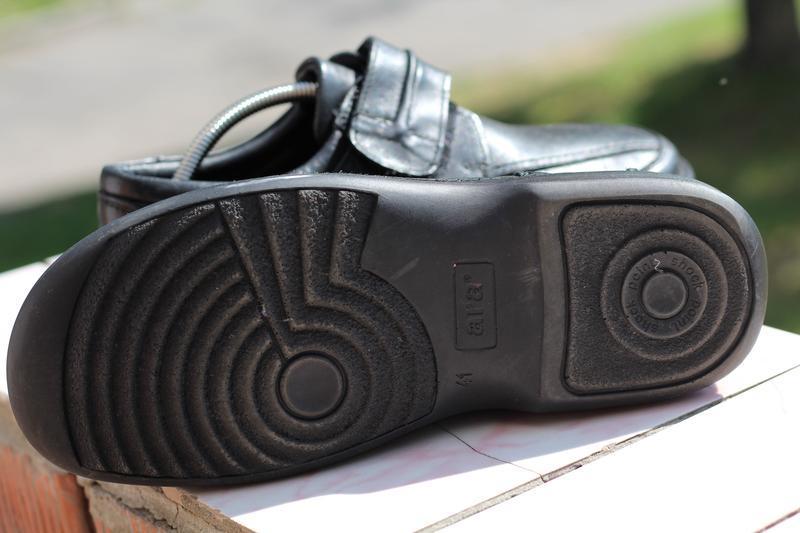 Шикарные кожаные туфли ara extra wide (широкая стопа) 40-41 - Фото 3