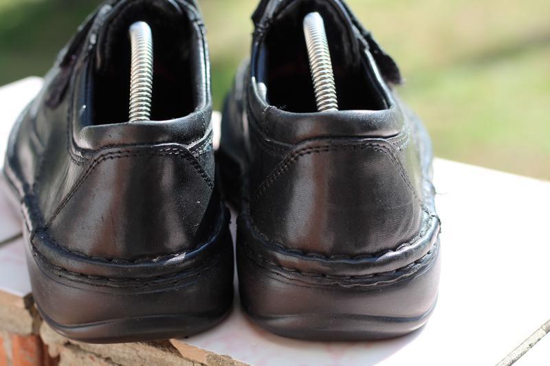 Шикарные кожаные туфли ara extra wide (широкая стопа) 40-41 - Фото 4