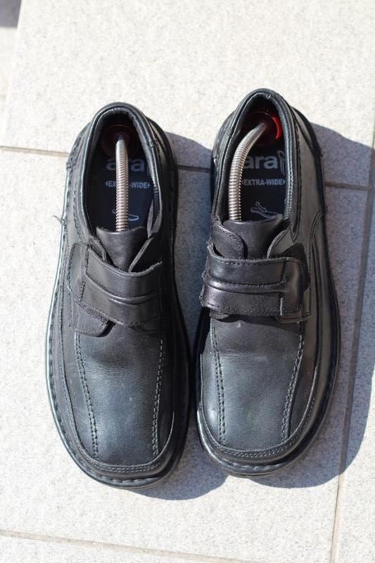 Шикарные кожаные туфли ara extra wide (широкая стопа) 40-41 - Фото 5