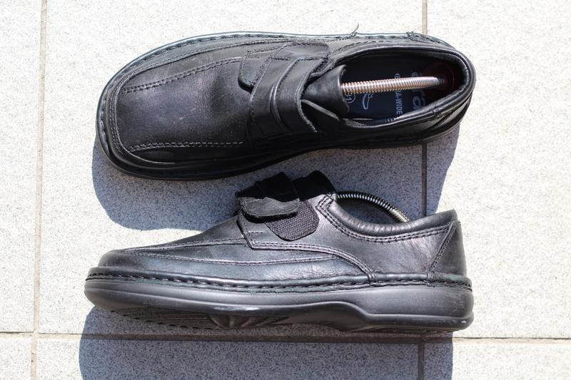Шикарные кожаные туфли ara extra wide (широкая стопа) 40-41 - Фото 6