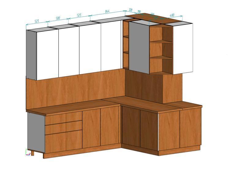 Проектирование мебели Вияр