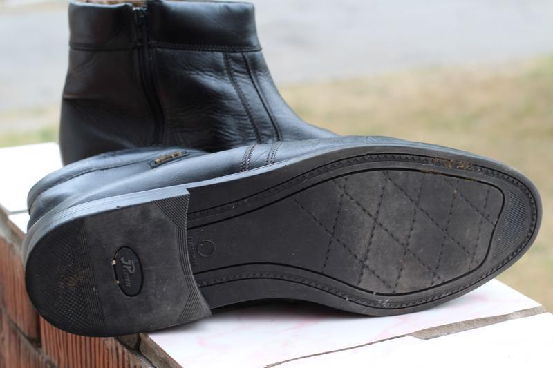 Кожаные ботинки, сапоги на цигейке 49-50. редкий размер!!! - Фото 3