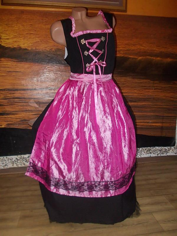 Платье с фартуком горничная 50 размер бренд janina