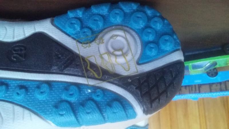 Кожаные кроссовки Lilin shoes р.25-30 - Фото 2