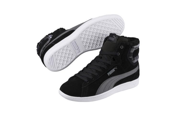 Зимние ботинки, женские высокие кроссовки vikky puma, оригинал...
