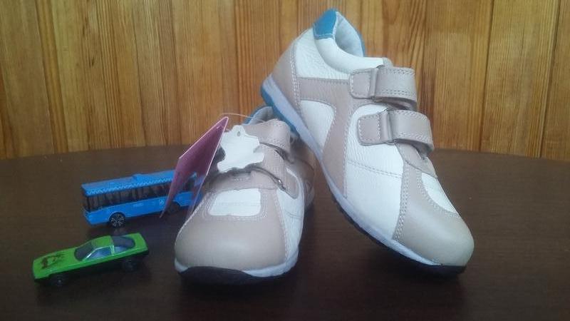 Кожаные кроссовки Lilin shoes р.25-30 - Фото 3