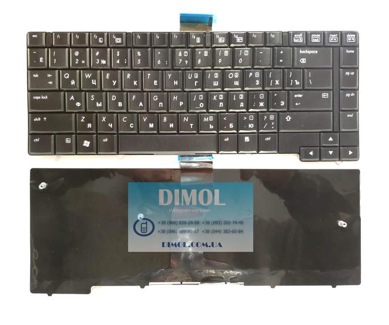Оригинальная клавиатура для HP EliteBook 6930p series, ru, black